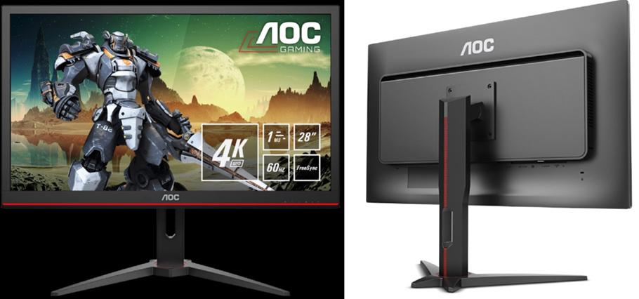 "Prädikat ""extrem scharf"" für AOCs neuen Ultra-HD Monitor"