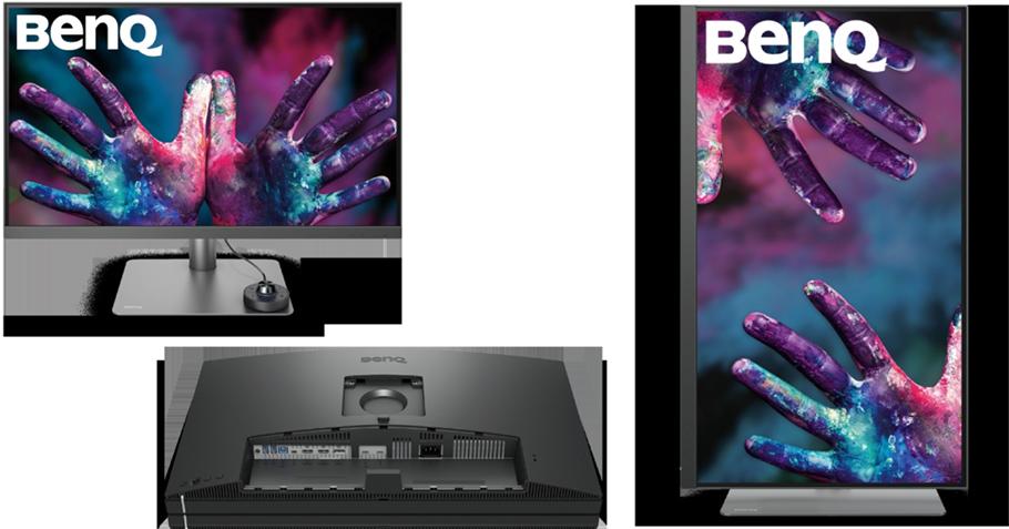 BenQ 4K-Monitor ist Werkzeug für alle anspruchsvollen Profis