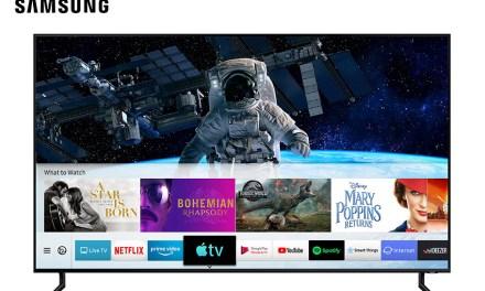 Samsung erneut in der Offensive:  Apple TV und AirPlay 2 integriert