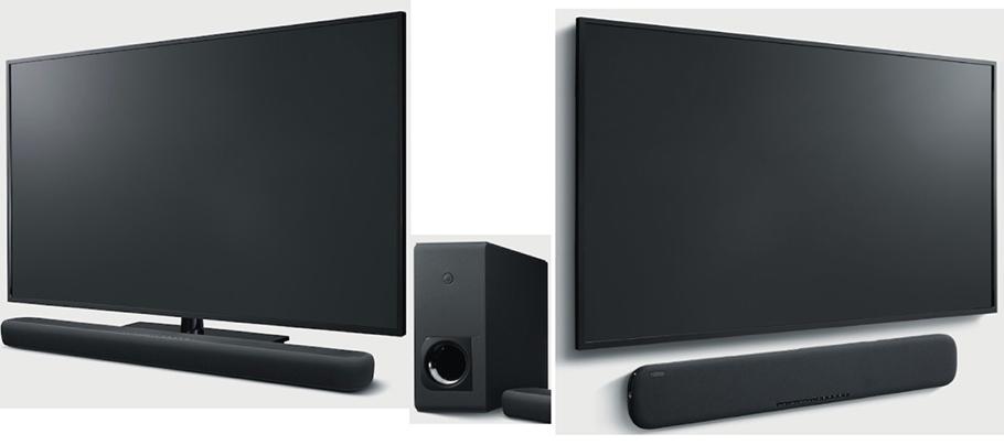 Yamahas neue Soundbars können 3D und hören auch auf Alexa