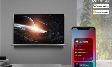 2019er LG AI-Fernseher erhalten  Apple AirPlay 2 und HomeKit!