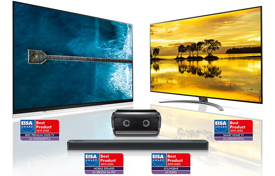 """Zum achten Mal: EISA-Awards für LG OLED-TVs """"Routine"""""""