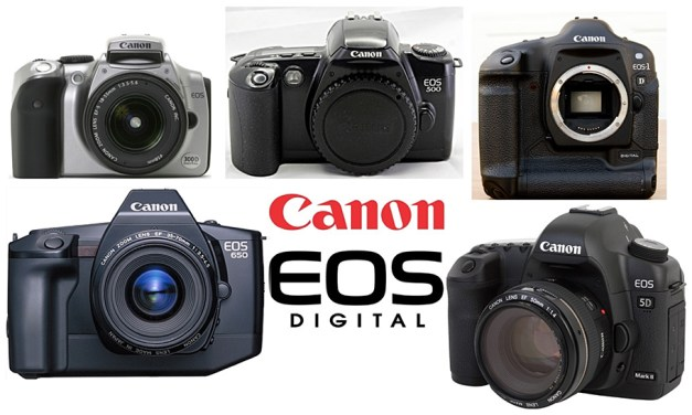 Canon EOS-Kameras gingen 100 Millionen Mal über Ladentische