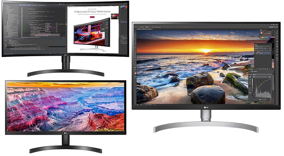 Ob ultrawide oder rattenscharf: Neue LG-Monitore passen sich an
