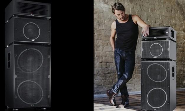 Teufel verführt Rocker zum Kauf: Lautsprecher aus dem Bilderbuch