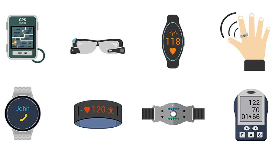 Smarte kleine Helfer sehr gefragt: Wearables sind stark im Aufwind
