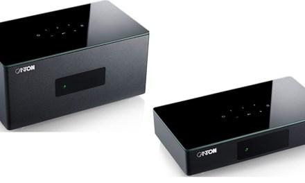 Fernseher und Lautsprecher funken im Canton-System mit