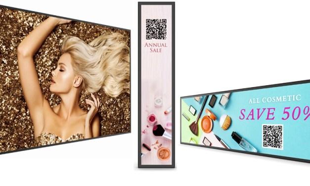 BH-Serie für Einzelhändler und Stretch-Displays höchster Güte
