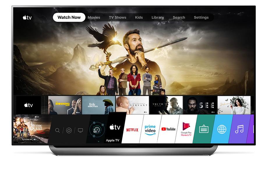 LG rüstet nach: Apple TV-App für 2018er und 2019er-Modelle