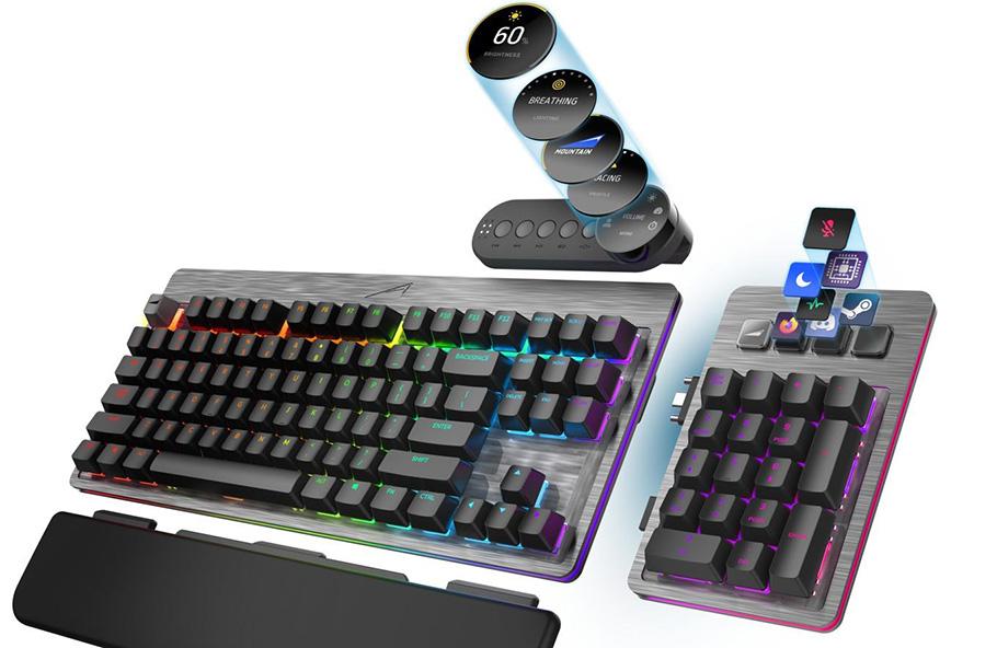 """""""Revolutionäre Wahlfreiheit"""" beim Everest Gaming-Keyboard"""