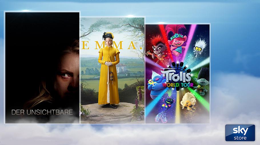 """Neueste Kino-Filme für Zuhause: Sky ermöglicht """"Premium-Leihe"""""""