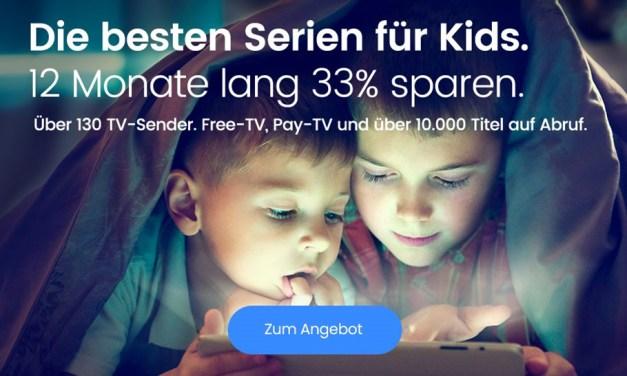 Kinder wollen bespaßt werden – waipu.tv räumt dicken Rabatt ein