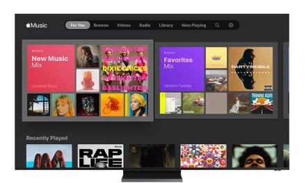 Samsung spendiert aktuellen Smart-TVs jetzt Apple Music