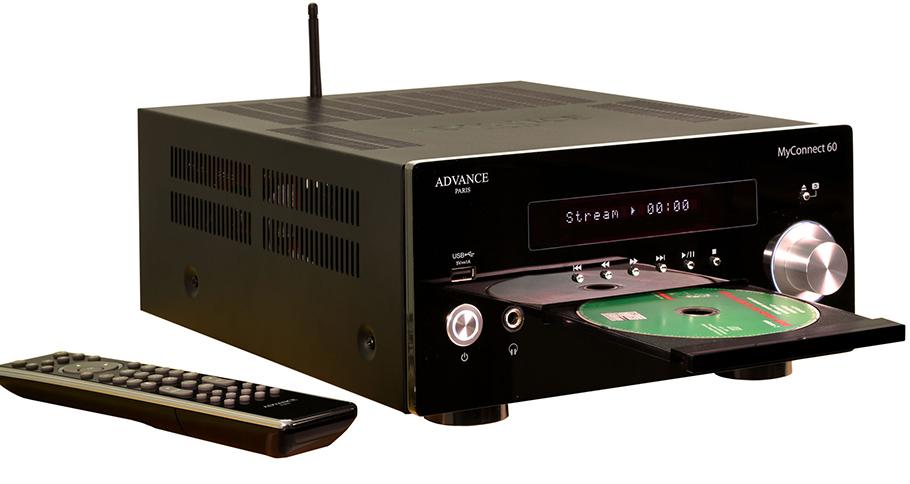 """All-in-One-Stereo-Verstärker von Advance Paris ist jetzt """"kräftiger"""""""