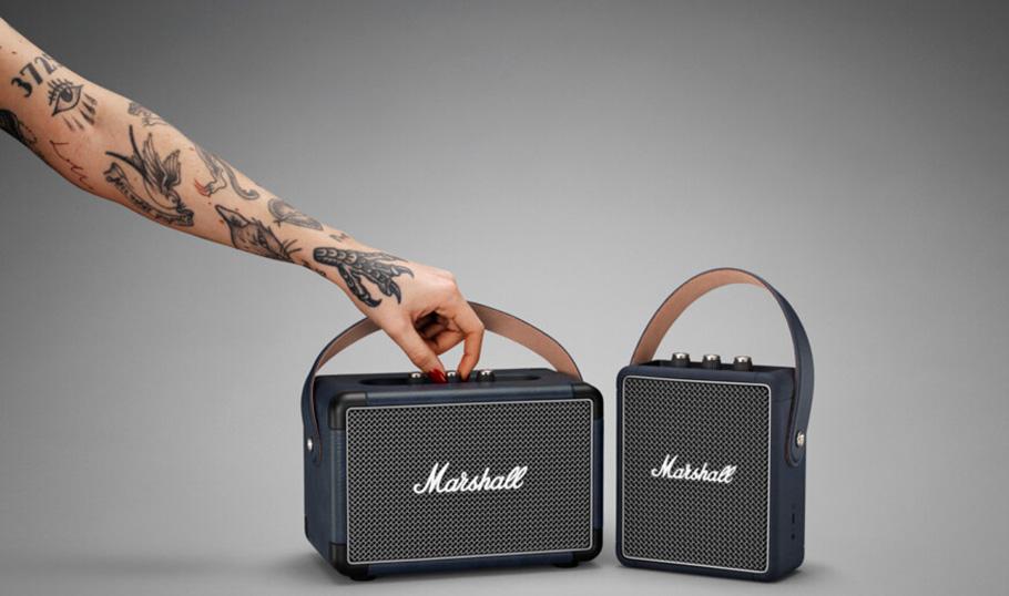 """Kleine, aber echte """"Marshalls"""": 5.0-Bluetooth-Boxen von Format"""