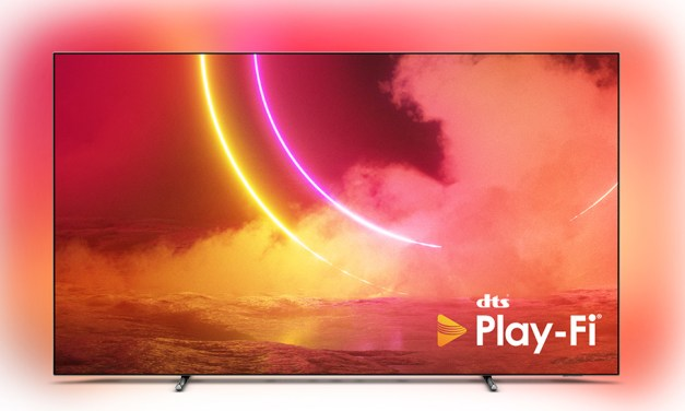 "DTS Play-Fi bei Philips OLEDs ""serienmäßig"": Firmware-Update"