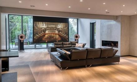 Die Verwandlung eines Lofts in eine Home-Opera mit Heimkino