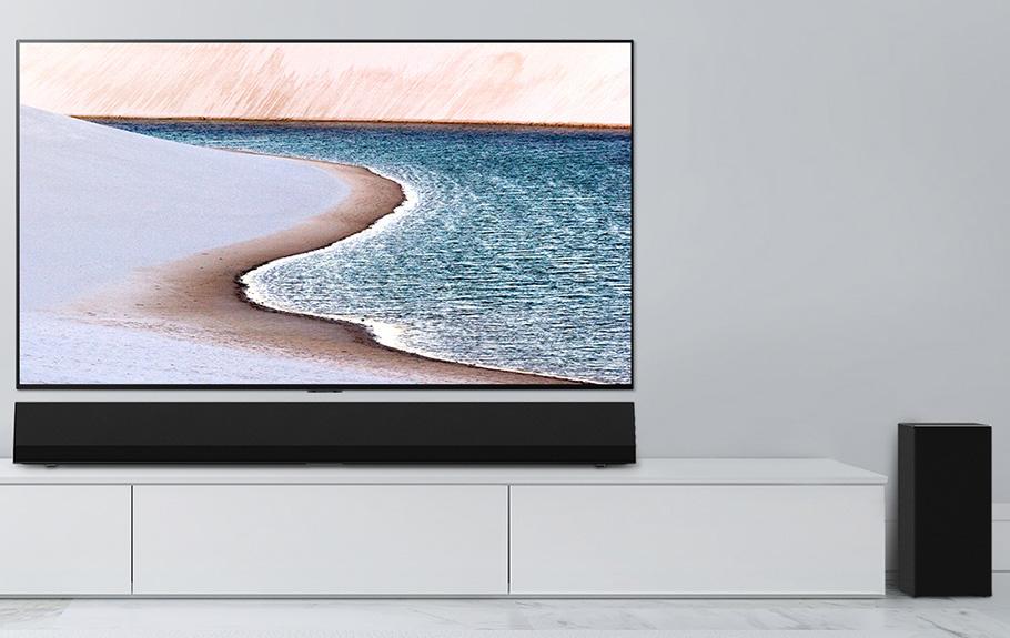 LG Soundbar im Gallery-Design auch für Hi-Res-Audio geeignet