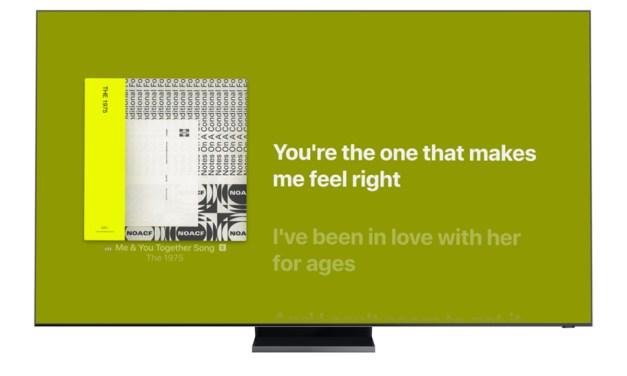 Samsung und Apple Music liefern jetzt Songtexte zum Mitsingen