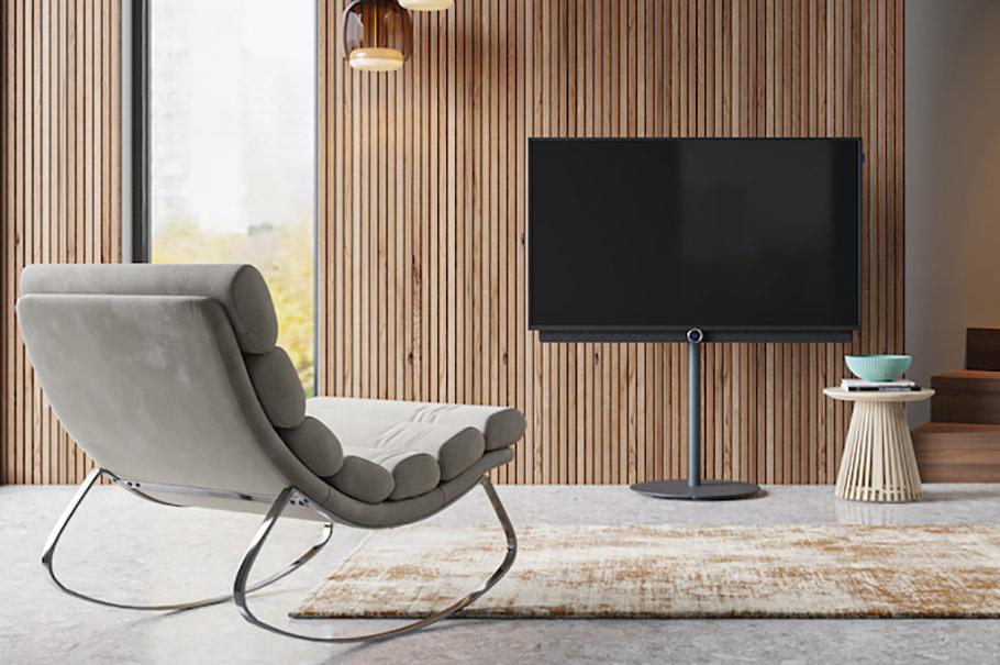 """Loewe Premium-Fernseher mit """"edler Note"""" und neuer Technik"""