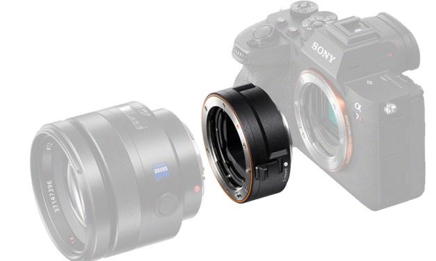 Vollformat-Adapter von Sony erlaubt das Kombinieren