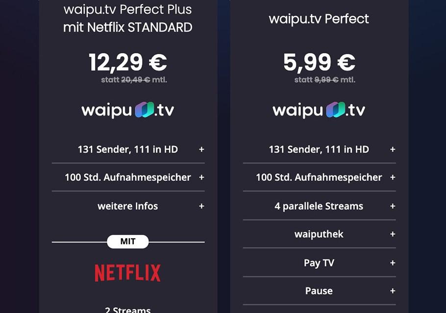 waipu.tv feiert den 4. Geburtstag: Satter Rabatt für die Neukunden