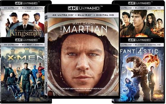 Ultra HD Blu-rays bei Amazon.fr für März 2016 gelistet