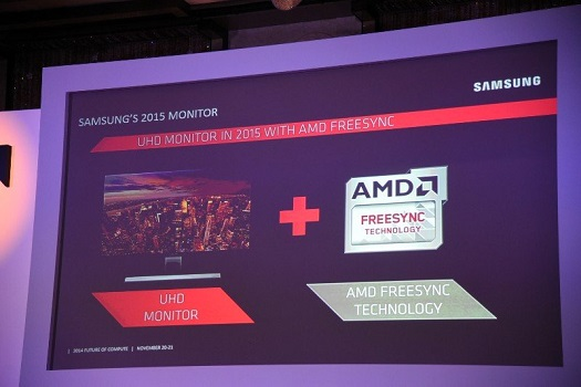 Samsung UHD-Displays: Ab 2015 alle mit Projekt-FreeSync Support