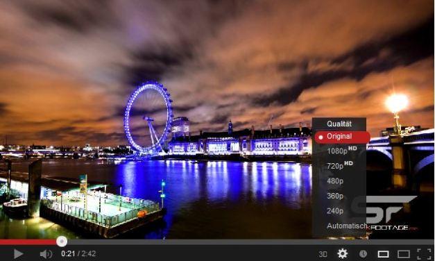 Die besten Ultra HD Zeitraffervideos der Woche im Überblick