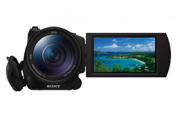 Sony FDR-AX100E: 4K-Camcorder mit annehmbarer Größe vorgestellt – CES 2014