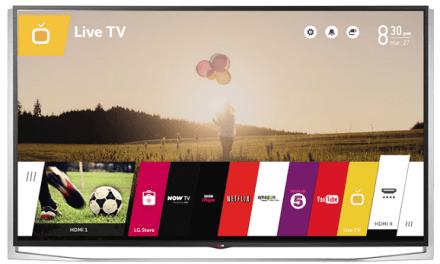 LG 79UB980V: Ultra-HD-Fernseher mit webOS kommt in zwei Wochen