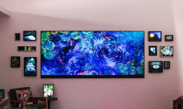 Microsoft versteckt einen 120 Zoll Ultra HD TV im Hinterzimmer