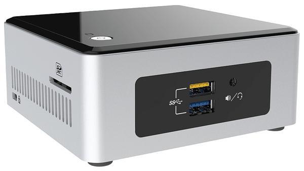 Intel Braswell-NUC NUC5CPYH: Mini-PC-Barebone mit 4K