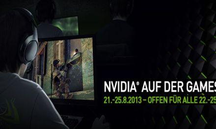 Gamescom 2013 – 4K Gaming durch NVIDIA präsentiert