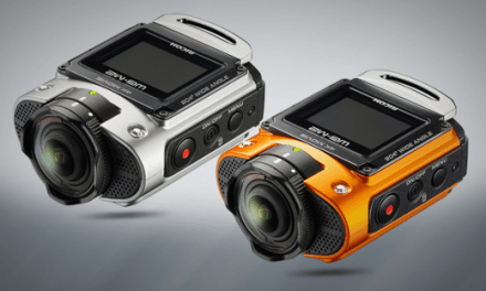 Ricoh WG-M2 Action-Cam mit 4K-Auflösung veröffentlicht
