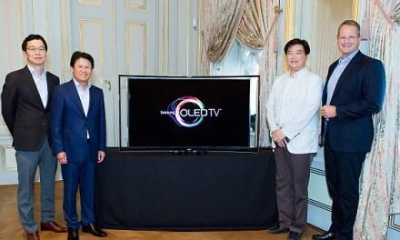 Samsung KE55S9C: Europapremiere des Curved OLED Fernsehers