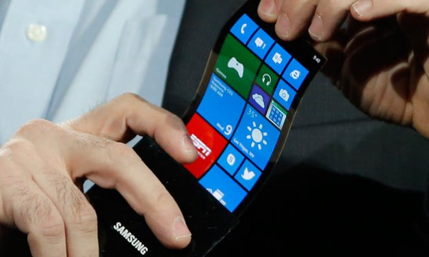 Samsung zeigt unbrechbares OLED-Panel für Smartphones
