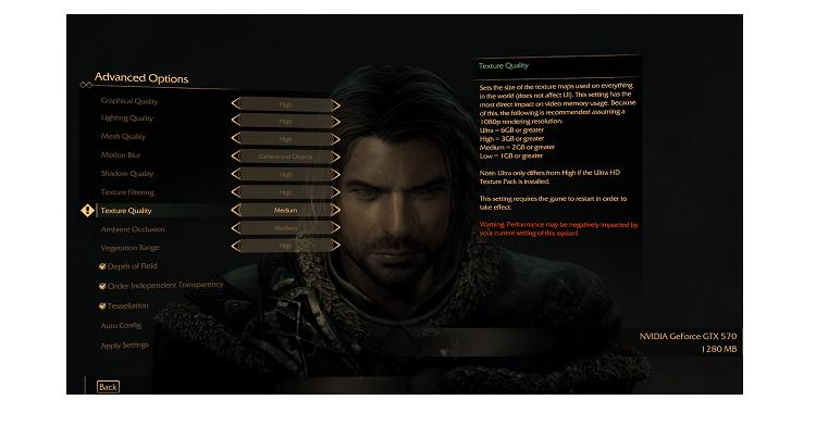 4K Gaming: Mittelerde – Mordors Schatten erhält UHD-Texturen ab 6 GB VRAM