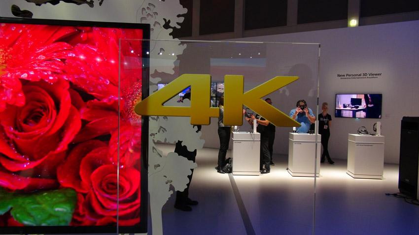 Sony: Neuer Werbespot für 4k-Fernseher mit bombastischer Aufmachung
