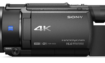 CES 2016: Sony FDR-AX53 – 4K-Handycam vorgestellt