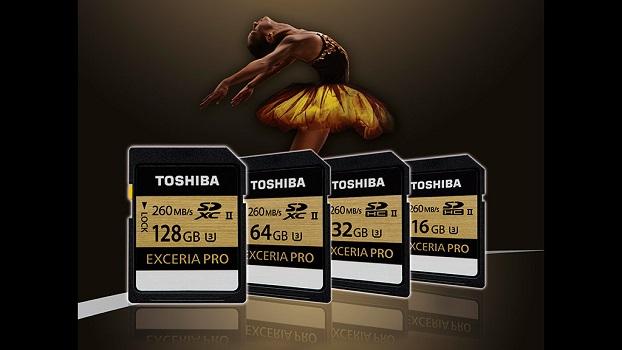 Toshiba Exceria Pro SD: 4K-SD-Karten vorgestellt