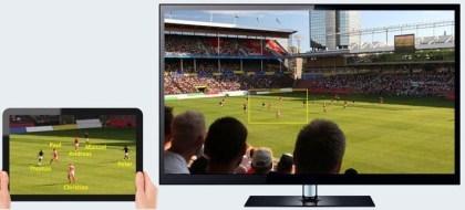 Ultra HD Zoom: Bildausschnitt von Zuschauer frei wählbar