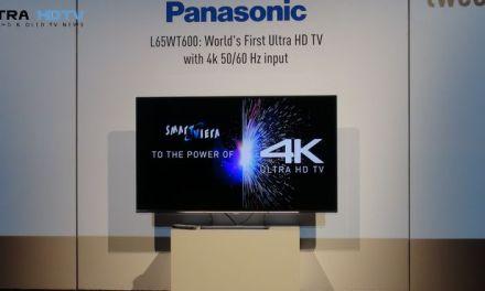 Panasonic: 65 Zoll Ultra HD TV mit HDMI 2.0 geleakt