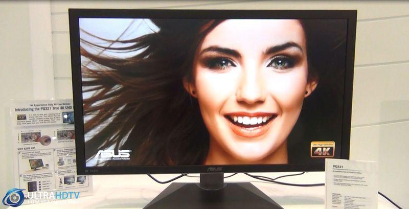 ASUS 31,5- und 39 Zoll 4K Monitor in unserem Eyes-On