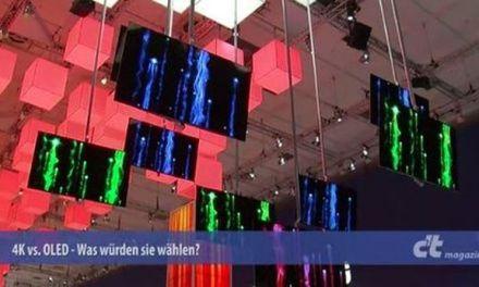 Auf der IFA nachgefragt – 4K vs. OLED