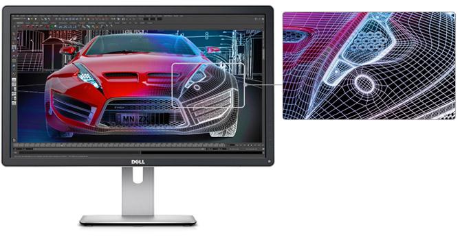 Dell 4K-Monitor mit 24 Zoll vorgestellt und mit 28 Zoll angekündigt
