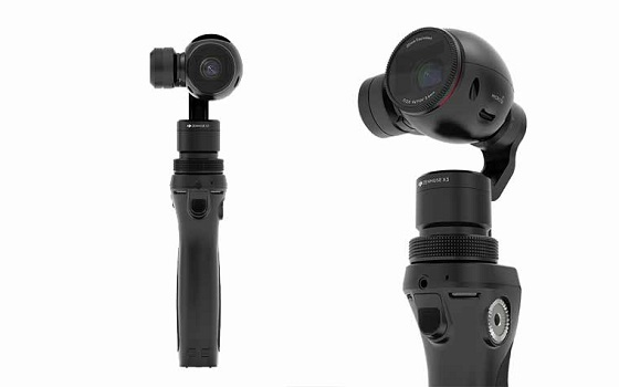 DJI Osmo: 4K Steady-Cam für 749 Euro veröffentlicht