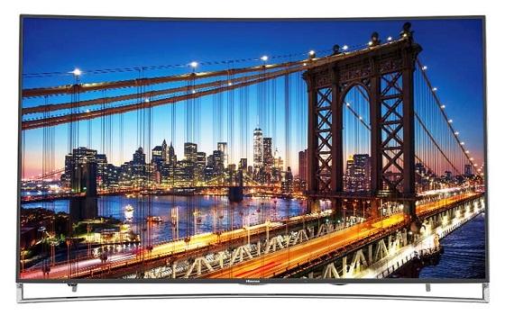 Hisense 55H9 & 65H10 Curved ULED 4K TVs mit HDR für 1.299 US-Dollar