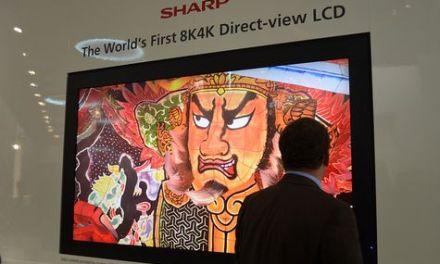 Sharp präsentiert Ultra-HDTV mit 33 Millionen Pixeln