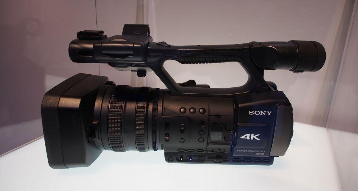 Sony stellt erste 4K-Kamera für Privatkunden vor